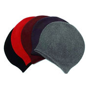100% Cashmere Knitted Beanies from  Inner Mongolia Shandan Cashmere Products Co.Ltd