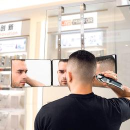 Self cutting mirror