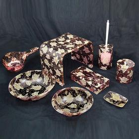 Fabric Embedded Bathroom Set from  Dalco H.J. Co Ltd