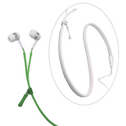 Zipper Design Stereo Wired Earphone from  UPO Technical Products Ltd
