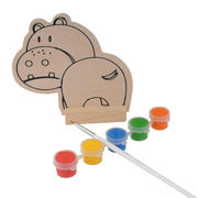 2014 new play baby paint popular wooden DIY toy s from  Wenzhou Times Co. Ltd