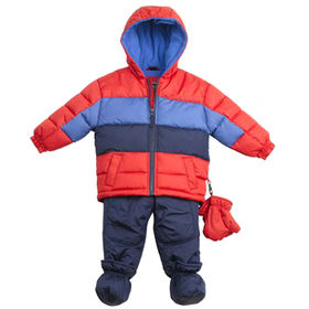 Boy's padding suits from  Qingdao Classic Landy Garments Co. Ltd