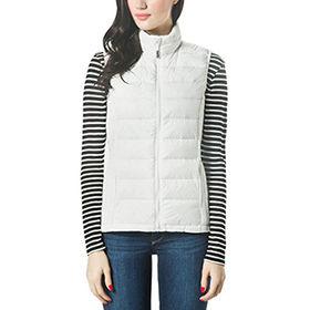 Fashion body slimming sleeveless jackets from  Fuzhou H&f Garment Co.,LTD