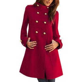 Women's wool coat from  Qingdao Classic Landy Garments Co. Ltd