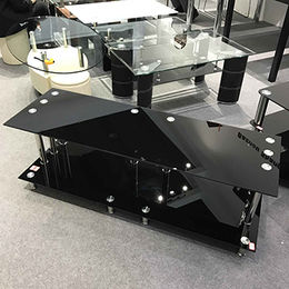 Tempered Glass and Stainless Steel Stands from  Langfang Peiyao Trading Co.,Ltd