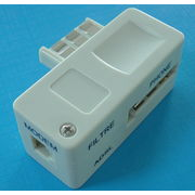 China Easy to Install French Style ADSL Filter with CE/UL Certifications