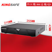 China 16-CH NVR, H.264 High Definition 4K Output/ONVIF Network Video Recorder/Two Hard Disk NVR