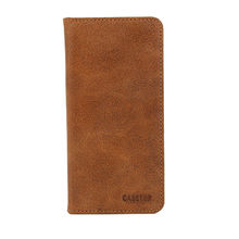 Genuine leather mobile phone wallet case from  Guangzhou Wan Er Electronic Limited