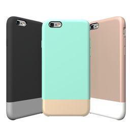 Over molding silicone/PC case for iPhone 6S from  Shenzhen SoonLeader Electronics Co Ltd