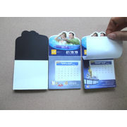 China Magnetic memo pad; note pad with magnet; fridge magnet with sticky pad