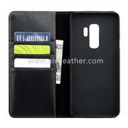 China Wallet Phone Leather Case for Samsung Galaxy S9 Plus