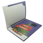 LCD video brochure