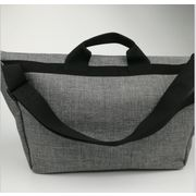 China Men's single shoulder bags, OEM/ODM, made of synthetic leather
