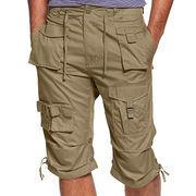 Design 100% cotton work shorts from  Fuzhou H&f Garment Co.,LTD