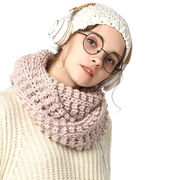 Women's knitted snood scarf from  Hangzhou Willing Textile Co. Ltd
