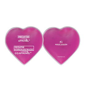 Heart-shaped PVC ice pack from  Hot and Cold Products Co. Ltd