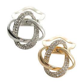Crystal Scarf Rings