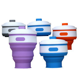 Hot sale foldable silicone collapsible cup from  Fuzhou King Gifts Co. Ltd