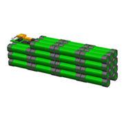 China Lithium-ion E-bike battery pack, 36V/10Ah