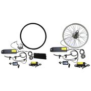 China 26-inch waterproof electric bike conversion kit with 36V battery