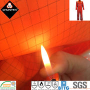 China Anti-static flame retardant waterproof polyester fabric for protective suit/cover