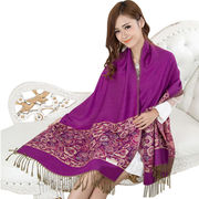 Ladies' Big Polyester Scarves from  Meimei Fashion Garment Co. Ltd