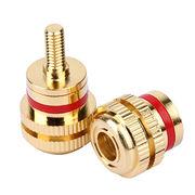Brass knurl bolt from  Dongguan City Aoyi Hardware Co. Ltd