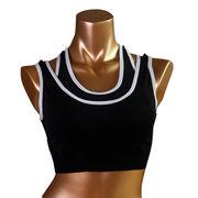 Sports bras from  Meimei Fashion Garment Co. Ltd