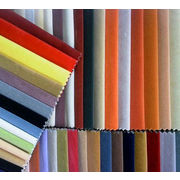 China Polyester flocking fabric for sofa, curtain and packaging