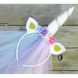 New Design Unicorn Headbands from  Chanch Accessories International Co. Ltd