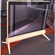 China 17-inch LED TV with hi-fi big speakers and double glass new model TV