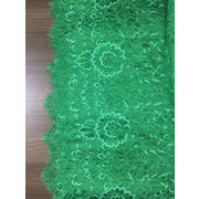 China Lace fabric polyamide, made of gold thread nylon/spandex chinlon, suitable for wedding/garment/