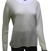Ladies' cashmere sweater from  Inner Mongolia Shandan Cashmere Products Co.Ltd