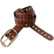 Stylish Brown Wide PU Belt from  Chanch Accessories International Co. Ltd