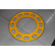 China Elevator parts friction wheel escalator driving wheel