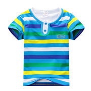 Boys' short-sleeved T-shirts from  Meimei Fashion Garment Co. Ltd