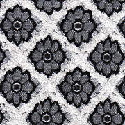 Flower Polyester Lace Fabric from  Fujian Changle Xinmei Knitting lace Co.Ltd