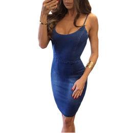 Denim Dress from  Nan'an City Shiying Sexy Lingerie Co. Ltd