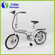 China Hot sale ladies' 20'' electric mini folding electric bike