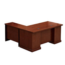 Particle office desk from  Guangxi GCON Office Furniture Co. Ltd
