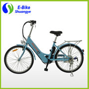 China 24''/36V LCD display city electric bicycle