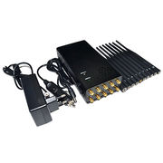 Plus 10 Antennas Portable WIFI5G Jammer from  Ching Kong Technology Co.,Limited