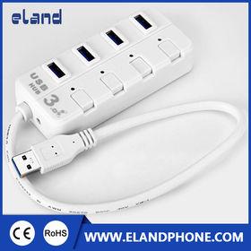 USB 3.0 HUB 4 PORTS USB HUB from  Elandphone Electronic Co. Ltd