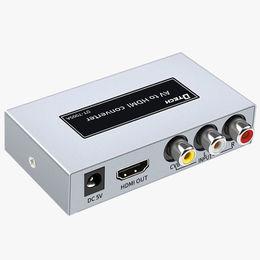 High speed HDMI TO AV converter 1080P from  Guangzhou Dtech Electronics Technology Co. Ltd