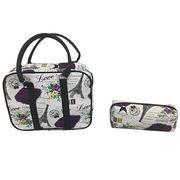PVC cosmetic bags from  Shanghai Promart Int'l Co. Ltd