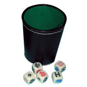 Dice cup set from  Kinlux Industrial Corporation