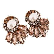 Cubic zirconia stud earrings from  HK Yida Accessories Co. Ltd