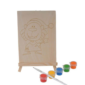 Wooden painted puzzle DIY toy from  Wenzhou Times Co. Ltd