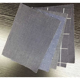 Thin prited cotton woven denim fabric from  Ningbo Nanyan Import & Export Co. Ltd
