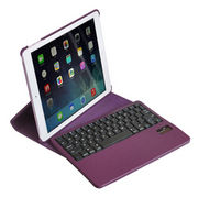 Bluetooth keyboard leather case for iPad air from  Anyfine Indus Limited